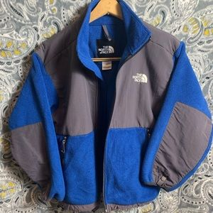 THE NORTH FACE Youth Jacket Medium blue&gray